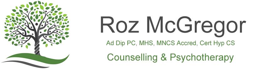 Roz McGregor – Hypnotherapy, Hypnotherapist, Thame, Saunderton, Oxford, Oxfordshire, Buckinghamshire Logo